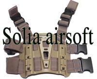 Wholesale OP Tactical Hunting Drop Leg Holster Platform Panel for CQC holster Brown
