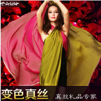 Wholesale 2013 new European and American import orders silk yarn dyed fabric material silk scarf color special clearance