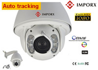 ptz auto tracking - Auto Motion Tracking PTZ IP Camera outdoor MP full HD P High speed dome camera x Zooms cctv camera