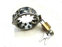 Steel standared stainless steel Stainless steel Kali's Teeth Cock Ring Male Chastity Device fetish toys sex toys-A-0030