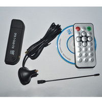 Wholesale Newsky TV USB DVB T RTL SDR Receiver RTL2832U R820T Tuner MCX Input