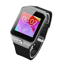 Wholesale Galaxy Gear quot inch Touch Screen SIM Pedometer FM Bluetooth Wrist M6 Smart Watch Cell Phone For IOS iPhone S S S5 Note