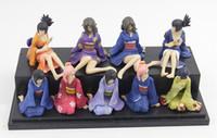 free japanese girl - Japanese Anime MH Naruto Kimono Plastic Dolls Sexy Girls PVC Action Figures Toys cm set of