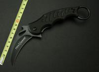 Cheap 2014 new Fox Claw Karambit G10 Handle Outdoor EDC Knife Pocket Folding knife camping hiking knife hunting knife knives 6PCS Lot H