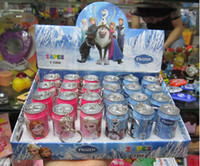 Wholesale 360pcs High quality Frozen Cola pen Ice and snow princess Animated cartoon of coke