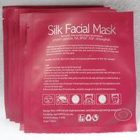 Wholesale Hot Sale Silk Facial Mask Natural Silk Deep Sea Fish Collagen Micromolecule Repair Damaged Injured Skin Delay Ageing g v line Face Mask