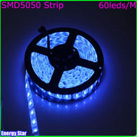 Wholesale 5m LED V Flexible Light led m Non waterproof LED Strip Tape V DC Green Led Light Tape