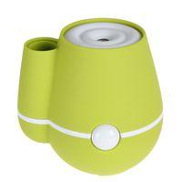 Wholesale 20pcs Vase ml USB Ultrasonic Mini Humidifier Air Purifier Mist Maker Perfume Aroma Diffuser Atomizer for Home Room Health Care