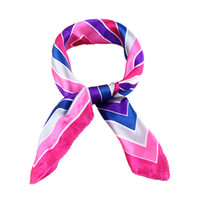 Wholesale New Arrival Colorful Silk Striped Scarf Shawl for Women