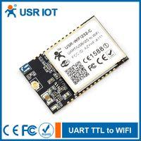 Wholesale USR WIFI232 Ca UART ttl to wifi USB I2S GPIO to Wi Fi b g n on board antenna