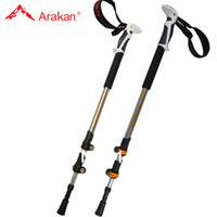 Cheap Wholesale-op-external Lock cane quick lock nordic walking Thick safe walking stick aluminium hiking pole similar with LEKI