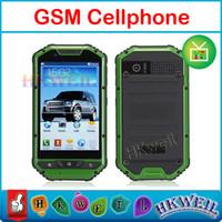 Wholesale TV mobile phone Waterproof Shockproof Phone A1 quad band quot WQVGA capacitye screen dual sim card dual camera GSM WEIL