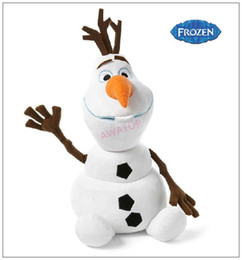 Wholesale 2014 New frozen olaf snowman anime frozen doll plush toys for children cm inch high quality the friend of princess