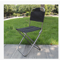 Wholesale super light foldable chair portable straight back camping chair outdoor chair aluminum alloy folding chair