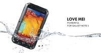 Cheap Love Mei Lunatik Taktik Case for Samsung Galaxy Note 3 III Note3 N9000 Gorilla Glass & Metal Warrior Aluminum in Retail Package