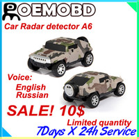 Cheap Hot sales! ONLY 10$ (08-17) GPS Radar Detector English Russian voice warning X,K,Ka,New K,Ku band and La Speed Control Detector