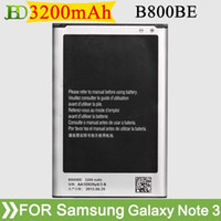 Wholesale B800BE mAh Mobile Phone Battery For Samsung Galaxy Note N9000 N9005 N9002 N900 N900A Batterie Batterij Batteria AKKU