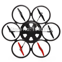 Cheap World Biggest Quadcopter RC Remote Control Helicopter 80cm 4CH Quadrocopter UFO Drone Big Electronic Toys WLtoys V323 Free Ship