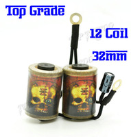 Wholesale Cool Skull Heads Style Tattoo Machine Coil Coils Wrap Tattoo Machine Parts For Tattoo Machines