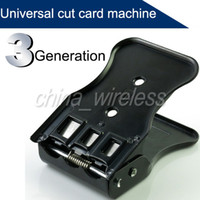 Wholesale Universal in SIM Mirco SIM Nano SIM Card Cutter With types SIM Card metal adapter Tray For Phone iPhone S S G G C Galaxy S3