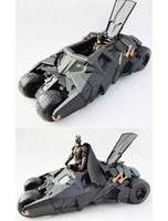 batman tumbler toys - BATMOBILE TUMBLER WITH BATMAN FIGURE BATMAN VEHICLE THE DARK KNIGHT CHILDREN TOY BLACK CAR TOYS S0323