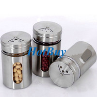 Wholesale Spice Jar Bottle Storage Seasoning Spice Dispenser Container Shaker Kitchen New