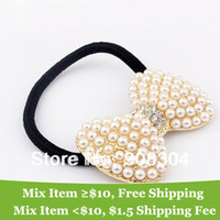 ac dress - OP summer dress pearl bow hair band hair jewelry hair clip luxury brand for women M17