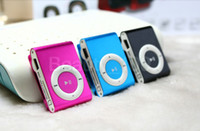 Wholesale Factory sale colors MINI Clip MP3 Player sport music mp3 With Micro TF SD Card Slot With Mini MP3