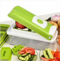 Wholesale Multifunctional Kitchenware Set Vegetable Fruit Slicer Container Chopper Dicer Cutter Peeler Kitchen Utensil Tool Kit
