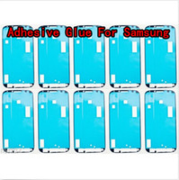 For Samsung adhesive tape strip - DHL Pre Cut Front Housing Frame Bezel M Adhesive Glue Sticker Strip Tape For Samsung Galaxy S3 S4 S5 S6 Edge mini Note A8 A7 A5 A3