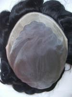 Wholesale lace toupee human hair wigs for men quot size B color tp DHL