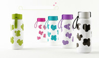 stainless steel double wall bottle - Cute Cow Design Smida Double Wall Stainless Steel Thermos Portable ml Colorful Insulated Water Bottle for Outdoor Travel