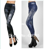 Wholesale New arrival sexy jeans For Women Fashion Leggings high quality Pants