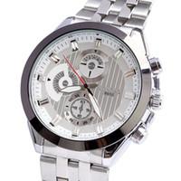 Cheap Watch luxury men genuine quartz jewelry Japan movement stainless steel alloy watch drop shipping