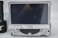 Cheap Trainborn mp5 player 7 retractable screen 1080p hd car cd machine car dvd