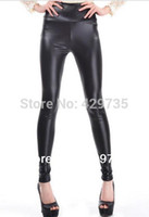 Cheap New arrival Women's Funky High Waist Faux Leather Fashion Leggings Many Colors Skinny Leg Pants Cheap price