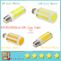 E27 E14 B22 Led COB Corn Light 9W 900LM 15W 1400LM Warm Whit...