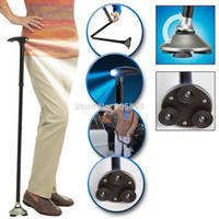 Cheap Wholesale-op-Trusty Cane The Standing Folding Lighted Walking Cane