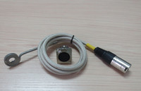 Wholesale ID9mm OD26mm Height mm V180W Flat Coil Heater Fiberglass Sleeve with Pin XLR Male Female Plug