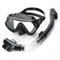 Wholesale Scuba Diving Snorkeling Silicone Mask Freediving Set