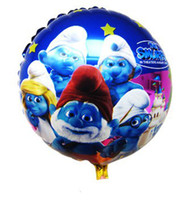 balloons pattern - Seven Dwarfs Pattern Round Aluminium Foil Helium Christmas Balloons Cartoon Balloon for Christmas party decorations Inch