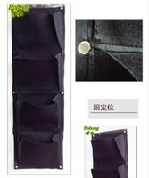 Wholesale cm x cm Pocket Hanging Vertical Garden Wall Planter for herbs lettuce flowers ferns cm x cm x mm thick