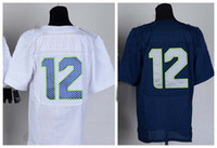 Wholesale NEW season top quality Cheap ers american football jerseys Fan blue white men s Elite jerseys