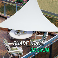 Wholesale Sun Sail Shade Awning Shelter Canopy Cover Triangle X3X3 M Waterproof