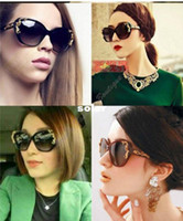 Cheap Hot sell 5 color TOP Quality Vintage Glam Butterfly Sunglasses Metal Roses Glasses Oversized