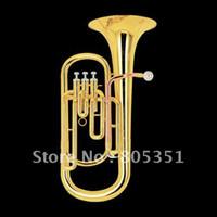 bb tuba - OP best music Brass Super Bb BARITONE TUBA PISTON HORN W case in stock
