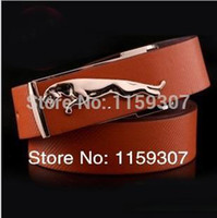 Wholesale Jaguar Fashion Man Belt All Match Smooth Buckle Belt Korean Style Hot Seller Top Quality Minimum Mixed Order