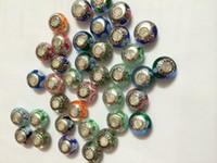 Cheap 2014 Christmas sale New fashion beads 925 Sterling Silver and mixed color Murano Glass Charm Bead For Pandora Bracelet