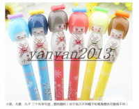 art dolls - 2016 new style Children s stationery New cute Cartoon Japanese dolls gel pen Korean Style Promotion Gift Fashion