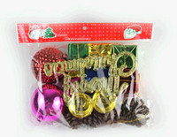Wholesale Christmas Christmas tree to hang most suit bag gift bag bag package more decorative package